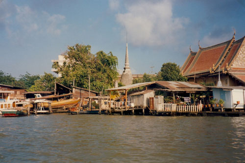 In den Klongs von Bangkok