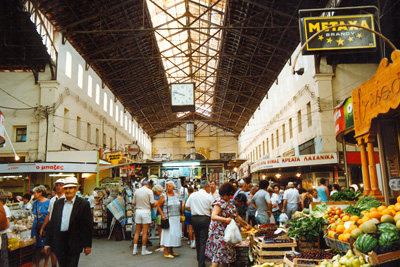 Markthalle in Chania