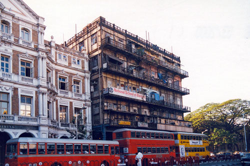 Strasse in Bombay