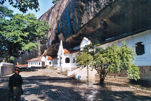 Höhlentempel in Dambulla in Dambulla