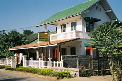 Unser Guesthouse in Luang Prabang