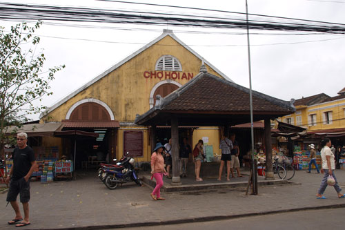 Markthalle in Hoi An