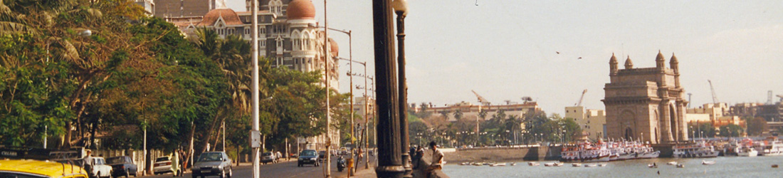 Ausblick auf Gateway of India