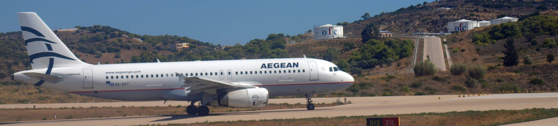 Aegean Airlines in Athen